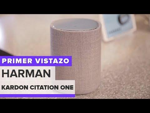 Harman Kardon Citation One: Una elegante bocina inteligenge con Google Assistant