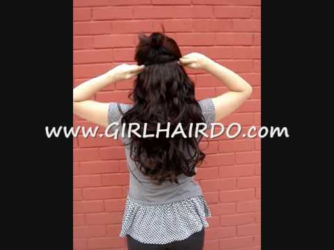 Romantic curls hair extensions. * new *