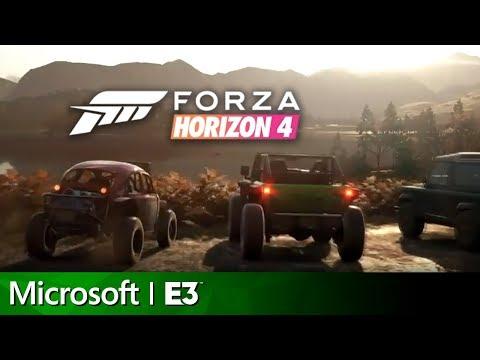 Forza Horizon 4 Full Reveal Presentation | Microsoft E3 2018 Press Conference