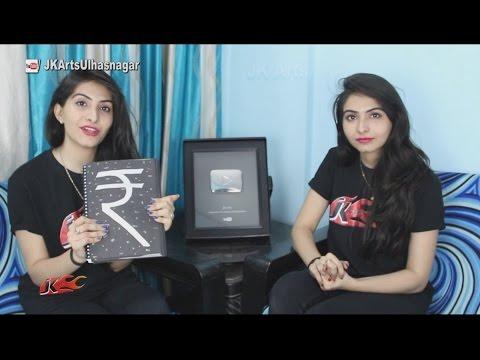 How to make Scrapbook for vintage currency | JK Arts 1130