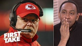 Andy Reid under the most pressure to win in the 2019 NFL Playoffs - Stephen A. | First Take