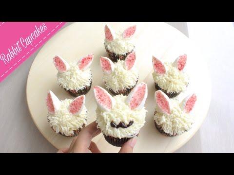 Easy Rabbit Cupcakes | Easter Treats Recipe
