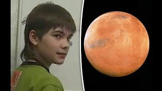 'Genius' Russian Boy Says He Used to Live on MARS & Martians are STILL There