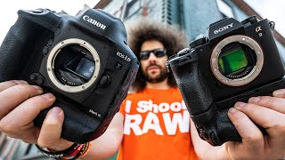 Canon 1DX Mark III VS Sony a9 II Which To Buy! The ULTIMATE BATTLE