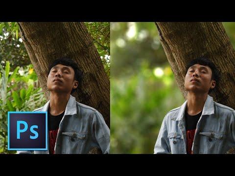 Cara Membuat Blur Dan Bokeh Pada Background - Tutorial Photoshop Bahasa Indonesia