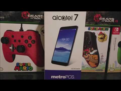 Metro by T-Mobile Alcatel 7 Unboxing