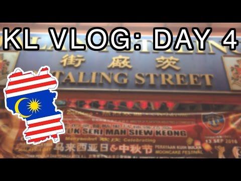 KL Vlog: Day 4 | Kenanga Wholesale City, Berjaya Times Square & Petaling Street