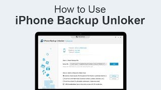 How To Use Iphone Backup Unlocker For Mac - Users Guide