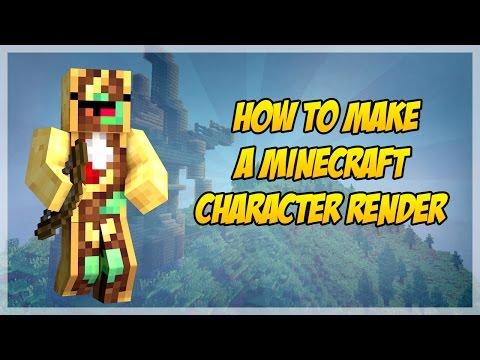 Minecraft- Cinema 4D Character Render Tutorial