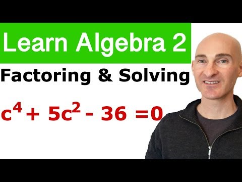 Factoring & Solving Polynomial Equations (Learn Algebra 2)