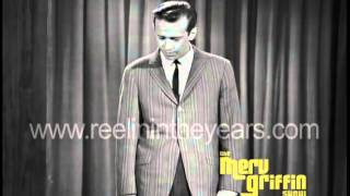 George Carlin Standup  Indian Staff Sergeant Merv Griffin Show 1965