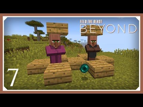 FTB Beyond | Cheap & Easy Ender Pearl Farm! | E07 (Modded Minecraft 1.10.2 Survival Let's Play)