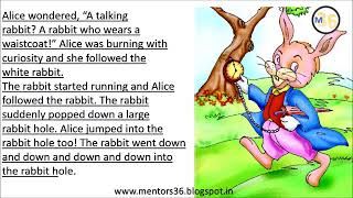 Alice in Wonderland Class 4   NCERT   Book Reading   Primary Smart Class