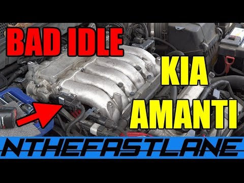 Kia Amanti Bad Idle & Misfire
