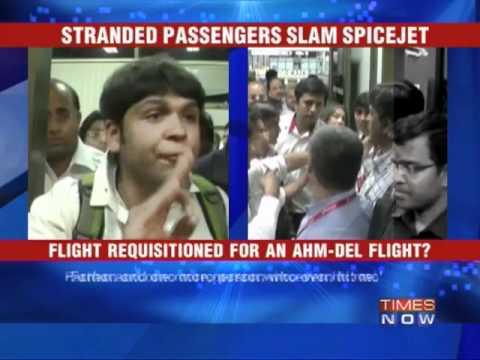 Stranded passengers slam Spicejet