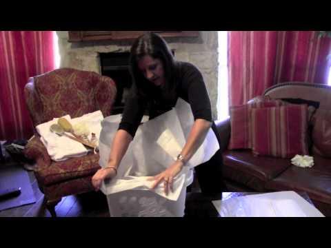 Wedding Gift Basket Idea or House Warming Gift Basket ~Crafty2thecore