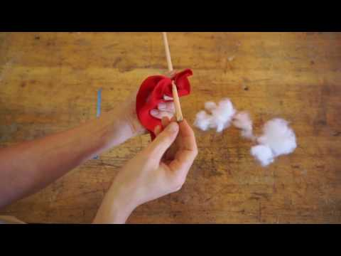 How to make a toy bow and arrow for kids part 2