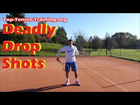 Tennis Technique Lesson | How To Hit Deadly Drop Shots like Djokovic