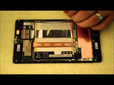 Nexus 7 2013 Disassembly for Micro USB Port Repair (Broken charge port)