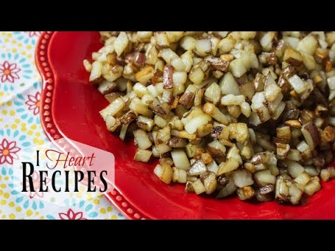 Southern Hash Browns - PLUS Special Announcement - I Heart Recipes
