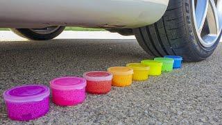 Crushing Crunchy & Soft Things by Car! - EXPERIMENT: CAR VS TOYS!!