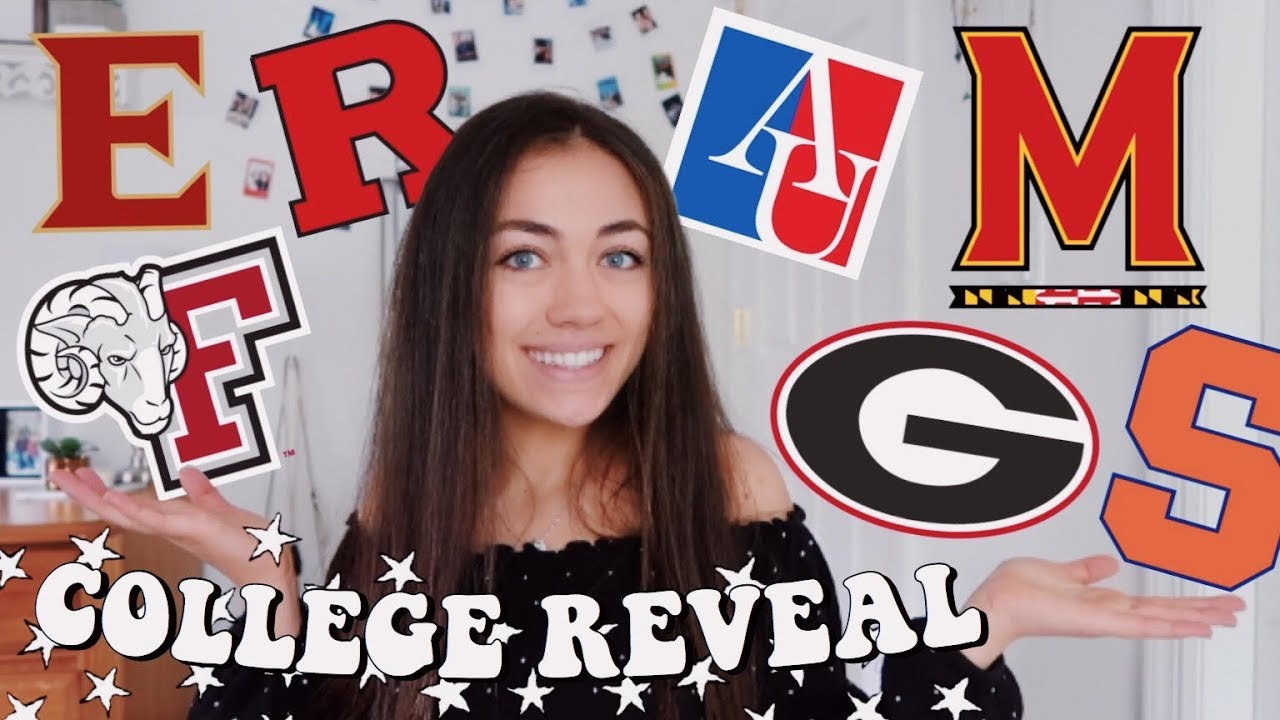 COLLEGE REVEAL 2019 + how i got accepted! (GPA, SAT/ACT, & more)