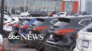 Sticker price savings on cars sold on Black Friday