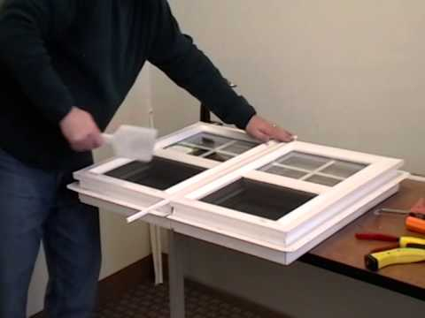 How to Mull Two Vinyl Windows Together