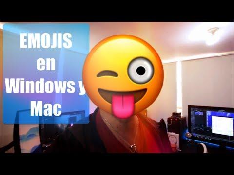 EMOJI en la PC (WINDOWS / MAC). Cómo Activarlos? (2017)
