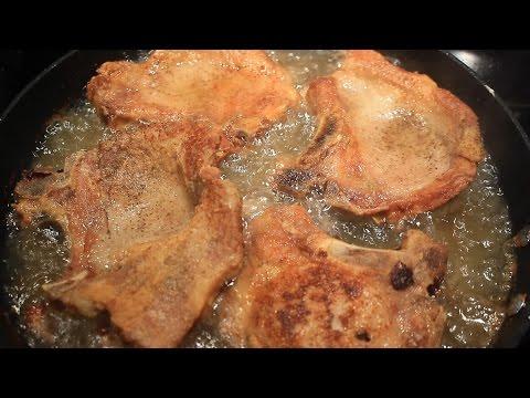Fried Pork Chops ~ Bone In ~ Delicious