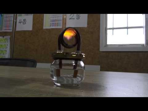 쨈통 알콜버너 Make a Wick to Coil Pipe (alcohol stove)  jung9ri