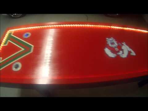 Fresno State Custom Beer Pong Table | GoPro Hero 3