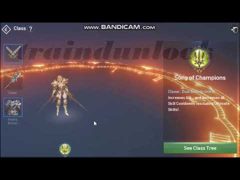 Lineage 2 Revolution All classes second class transfer skills