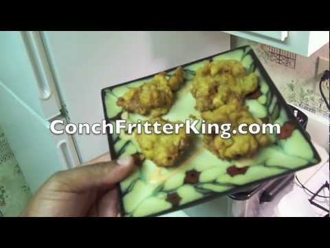 How to Deep Fry Conch Fritters