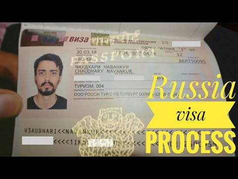 RUSSIA VISA PROCESS | INVITATION LETTER | FEES | VISA IN 3 DAYS