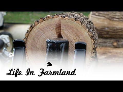 Tips and Ideas on improving efficiency when cutting firewood