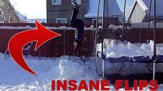 THE FLIP SONG!!! | INSANE FLIPS OFF TRAMPOLINE!!!