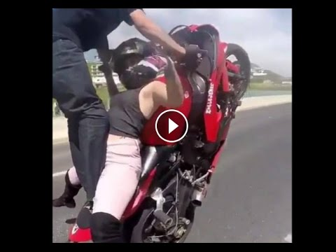 [VERY COOL] AMAZING STYLE MOTORCYCLE MOTORCYCLE CRASHES 2017