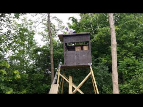 How to build a Deer stand