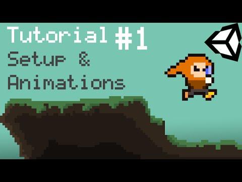 Unity 5 2D Platformer Tutorial - Part 1 - Setup, Animations