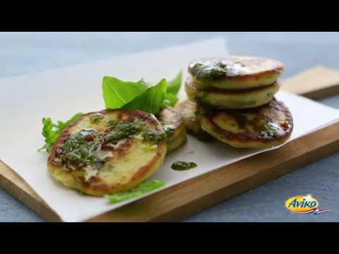 Mashed Potato Parmesan Blinis | Aviko Enjoy!