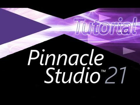 Pinnacle Studio 21 - Full Tutorial for Beginners [15 MINS]