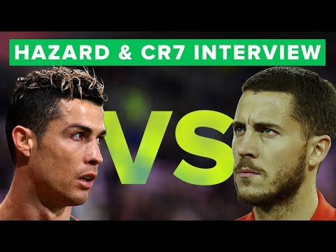 Ronaldo & Hazard interview on World Cup ambitions   CAN THEY WIN?