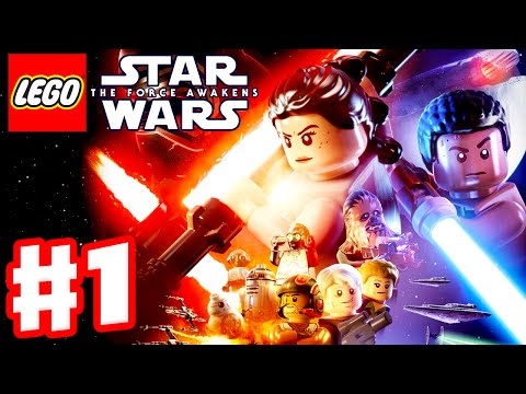 LEGO Star Wars The Force Awakens - Gameplay Part 1 - Prologue & Chapter 1: Assault on Jakku