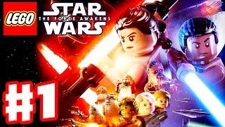 LEGO Star Wars The Force Awakens - Gameplay Part 1 - Prologue & Chapter 1: Assault on Jakku