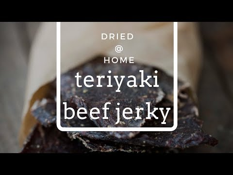How to make Teriyaki Beef Jerky | downloadable recipe