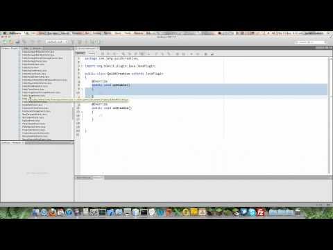 jahg Teaches Java - 02 - Plugin Project Setup (NetBeans)