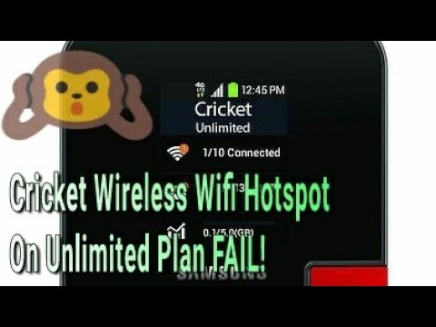 Cricket Wireless Wifi Hotspot On Unlimited Plan FAIL! Cricket Let's Talk! ITS TIME TO STOP!!!