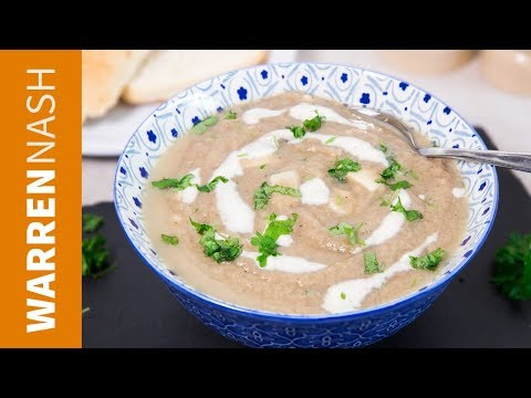 Classic Mushroom Soup Recipe Without Cream - Recipes by Warren Nash