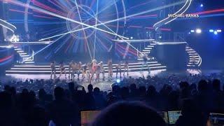 Watch: Fan rushes Britney Spears onstage in Las Vegas